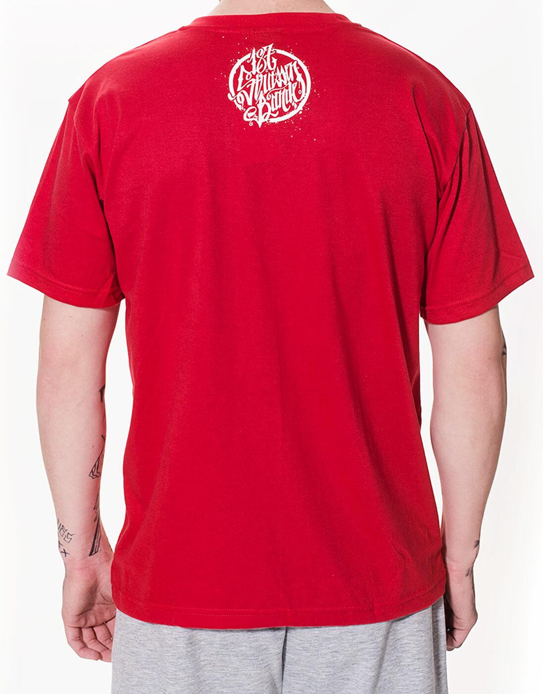 187 Pullover, 187 Strassenbande Logo Weiss Tshirt Schwarz